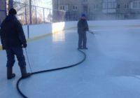 В Оренбурге залили 33 хоккейных корта
