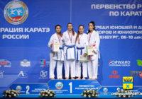 Спортсменка из Оренбурга завоевала «золото» первенства России по каратэ
