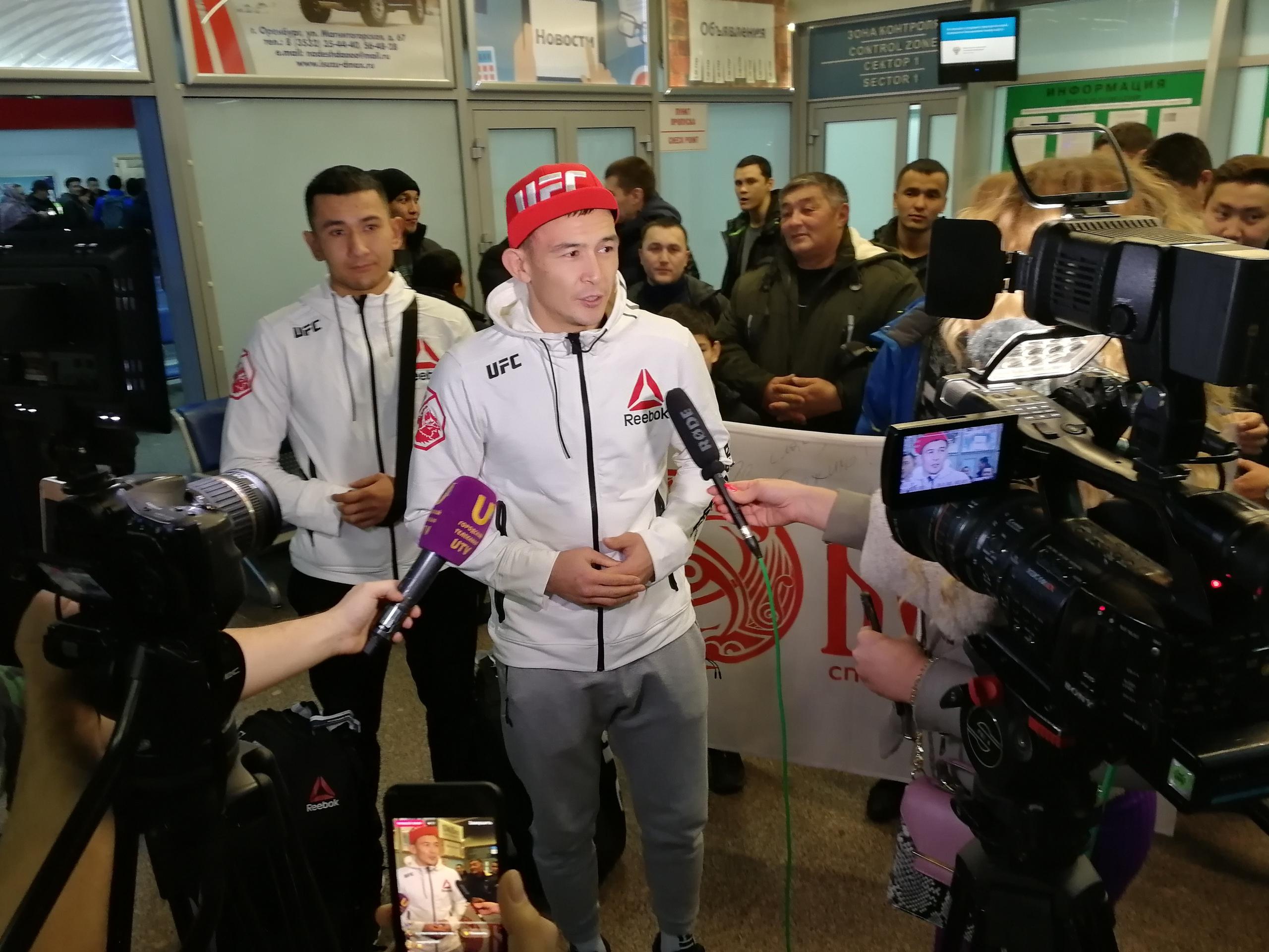 Дамир Исмагулов с триумфом вернулся в Оренбург