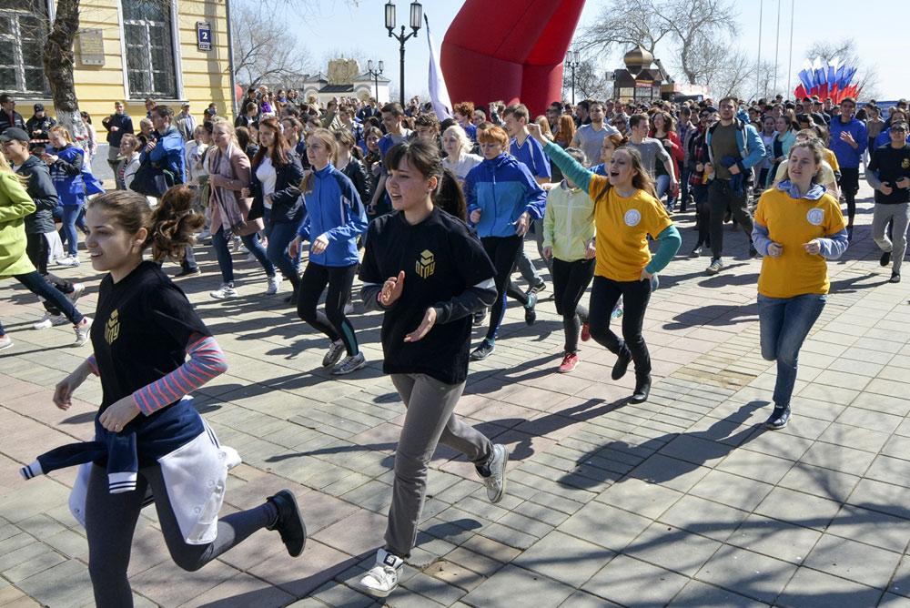 «Побежали!» Оренбург посвятит «Космический забег» Юрию Гагарину