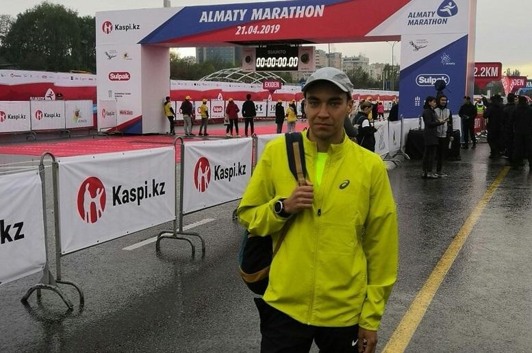 Оренбуржец стал третьим на крупнейшем забеге «Алматы марафон»