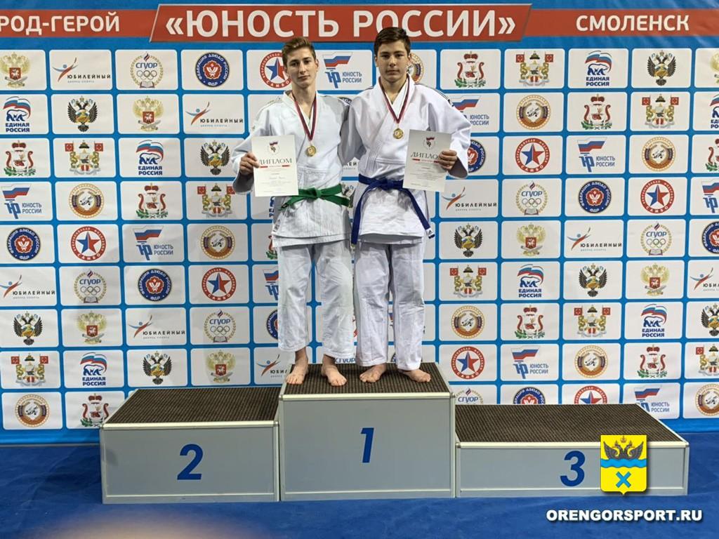 Дзюдоисты Оренбурга завоевали путевки на финал Первенства России