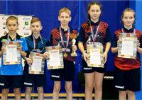Юные оренбуржцы завоевали путевки на Первенство России по настольному теннису