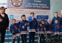 Оренбургская детская команда «Ястребы» завоевала серебро на дебютном турнире по следж-хоккею