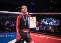 Оренбуржец Саламат Исбулаев стал серебряным призером Чемпионата России по MMA