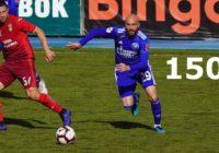 Вадим Афонин сыграл юбилейный матч за «Оренбург»