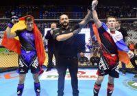 Саламат Исбулаев победил на Чемпионате Европы по MMA