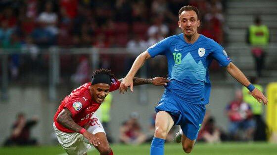 Денис Попович дебютировал за сборную Словении