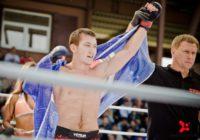 Саламат Исбулаев одержал первую победу на Чемпионате Европы по ММА