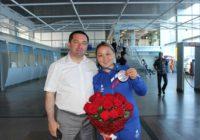 Жанара Кусанова привезла в Оренбург серебро Европейских игр