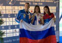 Орчане завоевали полный комплект медалей на чемпионате Европы по подводному спорту