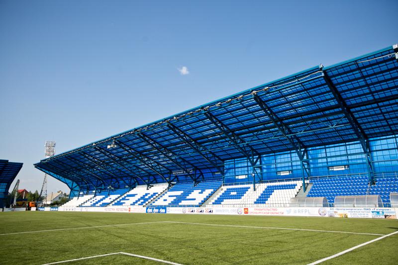 Денису Паслеру показали реконструкцию стадиона «Оренбург»