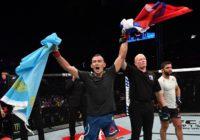 Дамир Исмагулов одержал третью победу в UFC