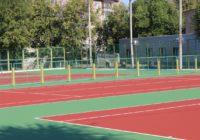 В парке Перовского появились четыре обновленных теннисных корта