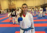 Оренбурженка Валерия Голубева готовится к первенству мира по каратэ