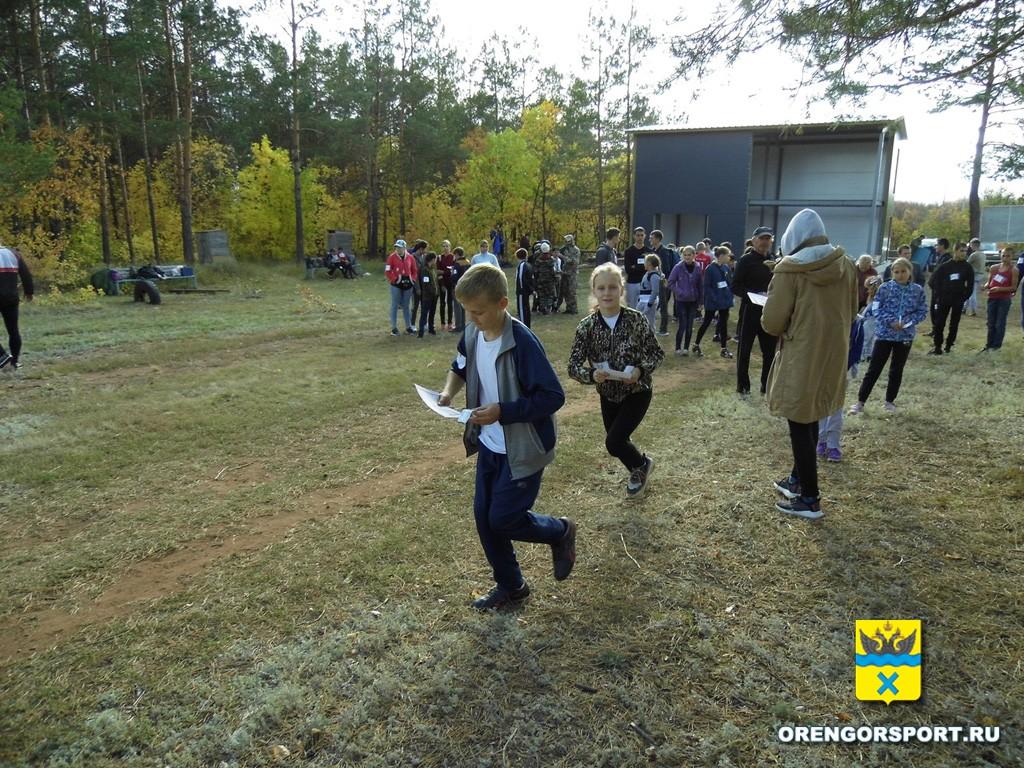 В Оренбурге прошел турнир по спортивному ориентированию