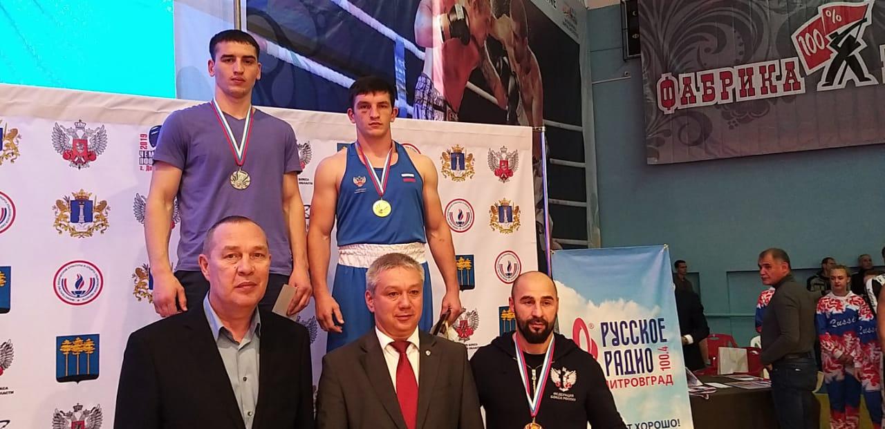 Сборная Оренбуржья завоевала две золотых, серебряную и бронзовую медали чемпионата ПФО по боксу