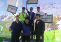Оренбуржец стал первым в забеге «Акжайык-Марафон»