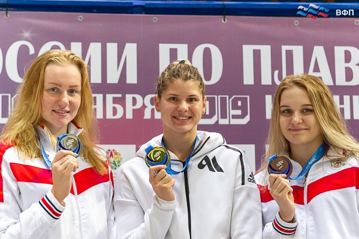 Мария Каменева возглавила ТОП мультимедалистов Чемпионата России по плаванию