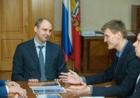 Денис Паслер встретился с легендой NBA Андреем Кириленко