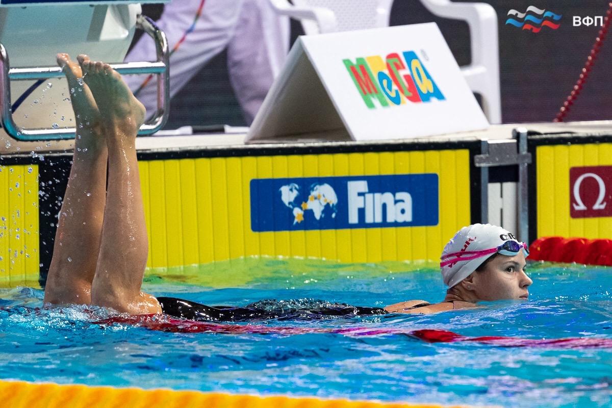 Оренбурженка Мария Каменева завоевала пять медалей на этапе Кубка мира по плаванию