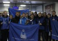 Марию Каменеву овациями встречали в аэропорту Оренбурга