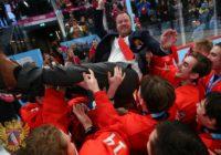 Юниоры сборной России взяли «золото» Олимпиады. Хоккеистов тренирует оренбуржец
