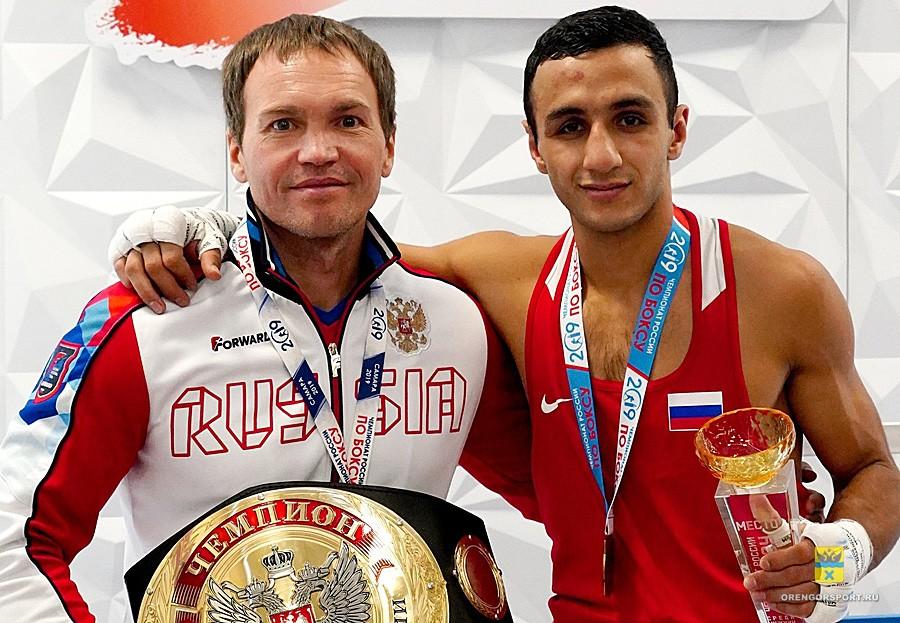 Федерация бокса Оренбургской области назвала Дмитрия Скопинцева лучшим тренером