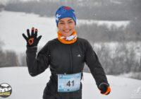 Оренбургские бегуны проводили год забегом GREBENI TRAIL