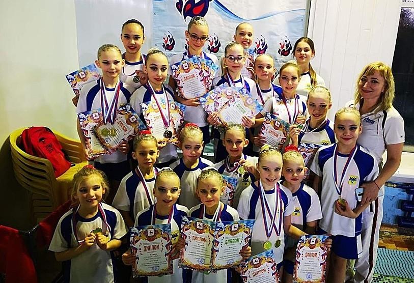 Оренбургские синхронистки успешно выступили на турнире «Горький STYLE»