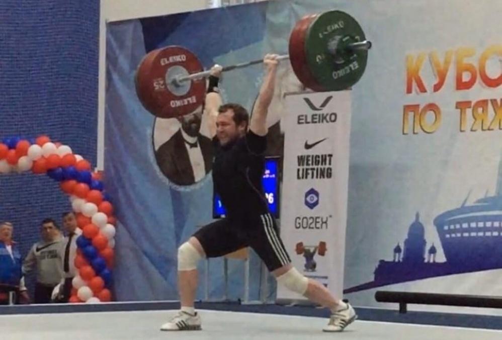 Золото двоеборья. Павел Суханов стал победителем Кубка России по тяжелой атлетике