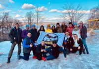 Оренбуржцы приняли участие в забеге «Лука Snow TRAIL»