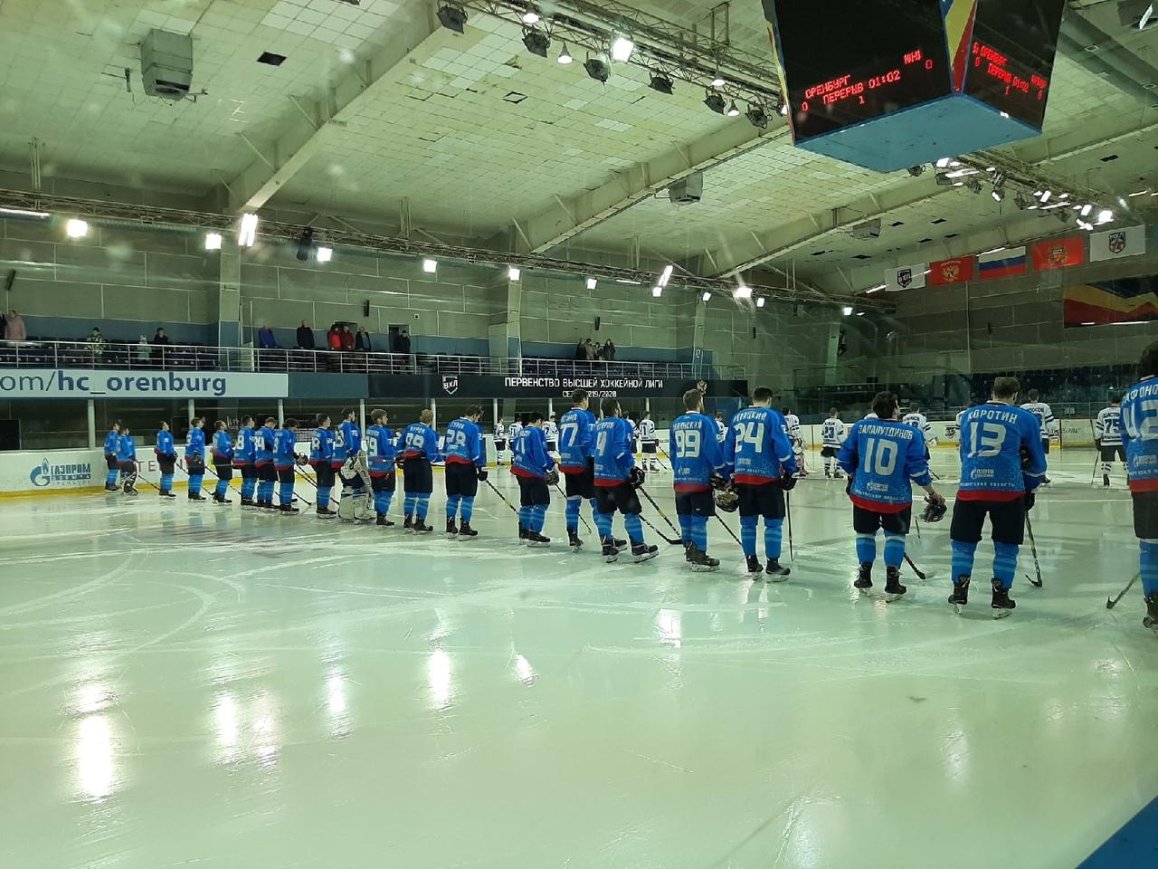 «Оренбург» спорно проиграл первую четвертьфинальную домашнюю игру