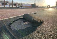 Подрядчики испортили беговые дорожки на набережной Оренбурга