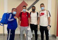 Возвращение блудных футболистов: Мишкич, Алвеш и Радакович добрались до Оренбурга