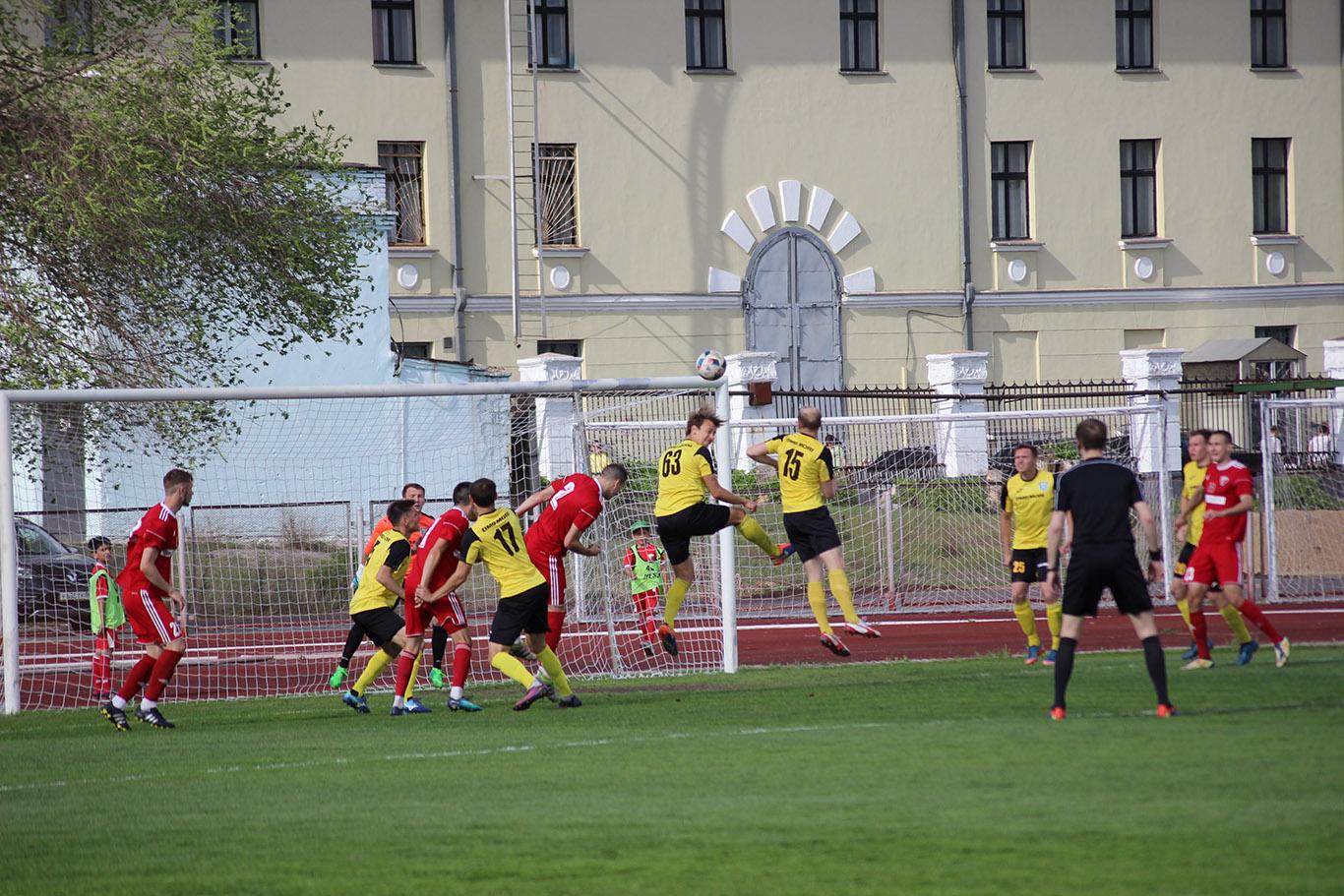Новотроицкая «Носта» сыграла вничью с ульяновской «Волгой»