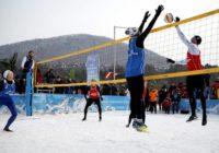 Студентка ОГУ предложила играть в волейбол на снегу