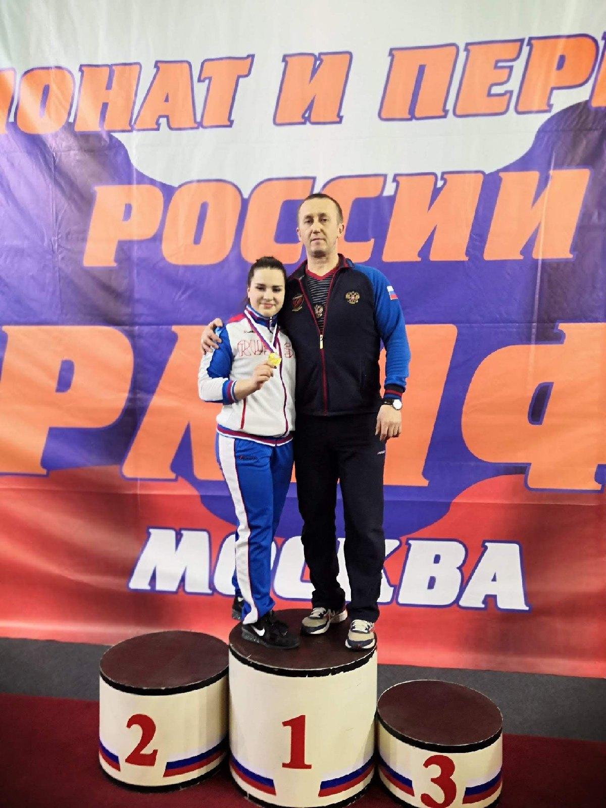Оренбургская тяжелоатлетка Дарья Ломацкая стала мастером спорта международного класса
