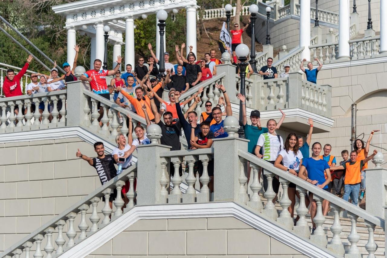 На набережной Оренбурга стартовали забеги проекта «Контрольная десятка»