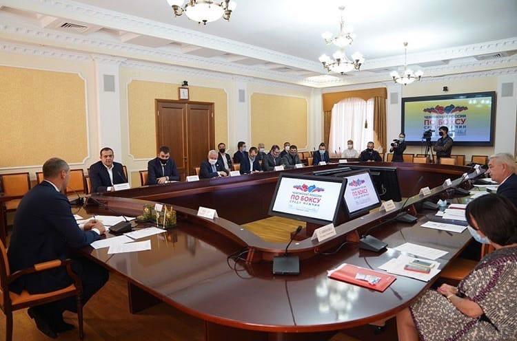 Паслер снова встретился с Кремлёвым: в Оренбурге обсудили проведение Чемпионата России по боксу