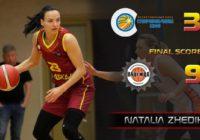 Третья победа: Точные броски Жедик помогли «Надежде» переиграть «Ставропольчанку»