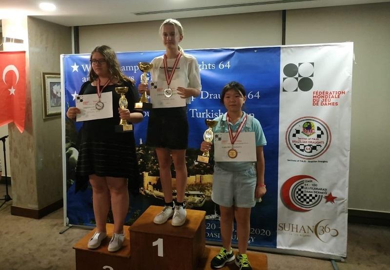 Орская шашистка завоевала два «золота» на первенстве мира