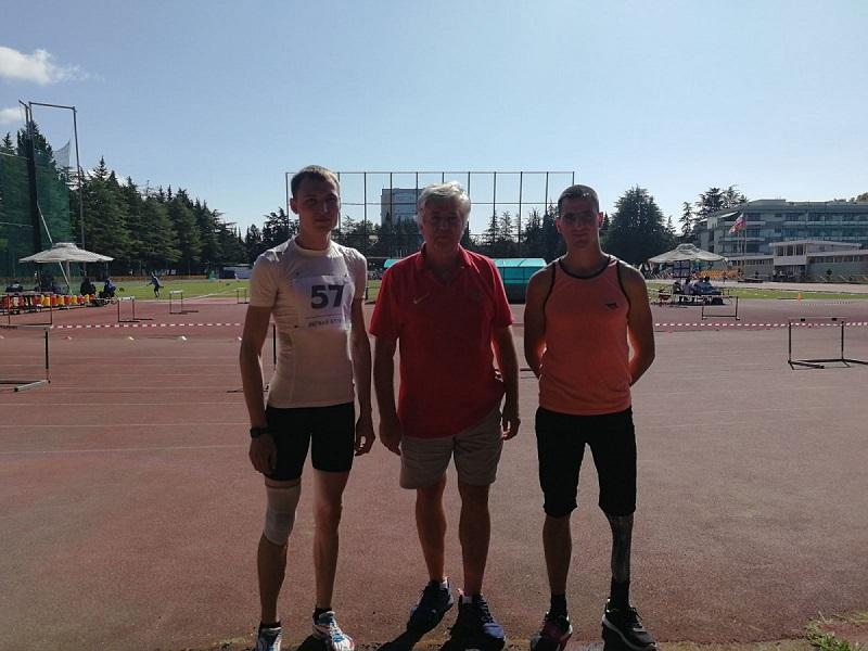 Легкоатлеты из Оренбуржья завоевали 5 медалей в Сочи