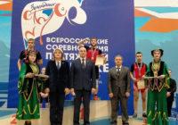 Оренбургские тяжелоатлеты завоевали 5 медалей на Всероссийских соревнованиях
