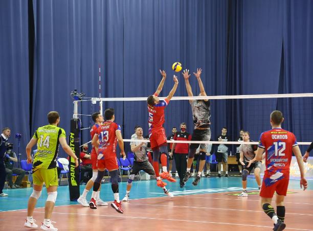 Волейболисты «Оренбуржья» одержали победу над нижегородским «АСК»