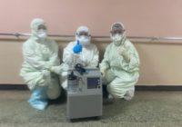 Клуб «Боец» передал концентратор кислорода в COVID-центр Оренбурга