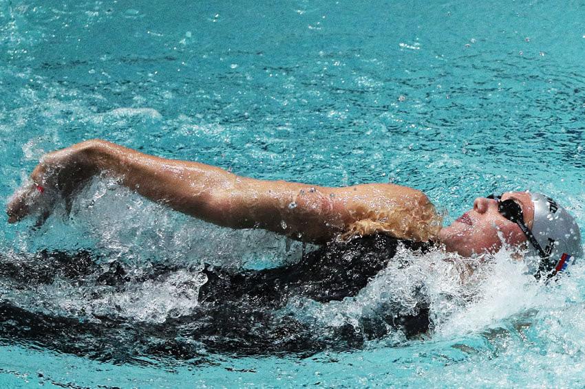 Оренбурженка Александра Коптелина выступит на Чемпионате России по плаванию
