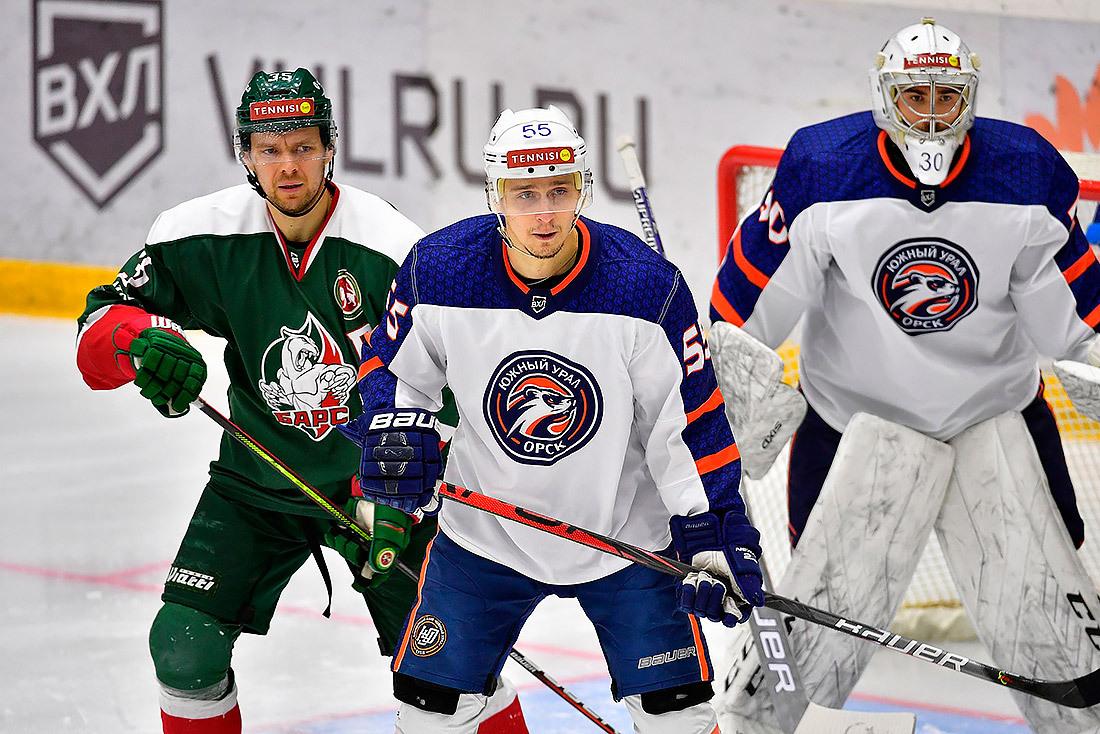 Орский «Южный Урал» одержал победу над казанским «Барсом»