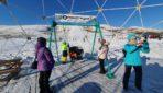 На горнолыжном курорте в Кувандыке появились качели «Оренбург Медиа»