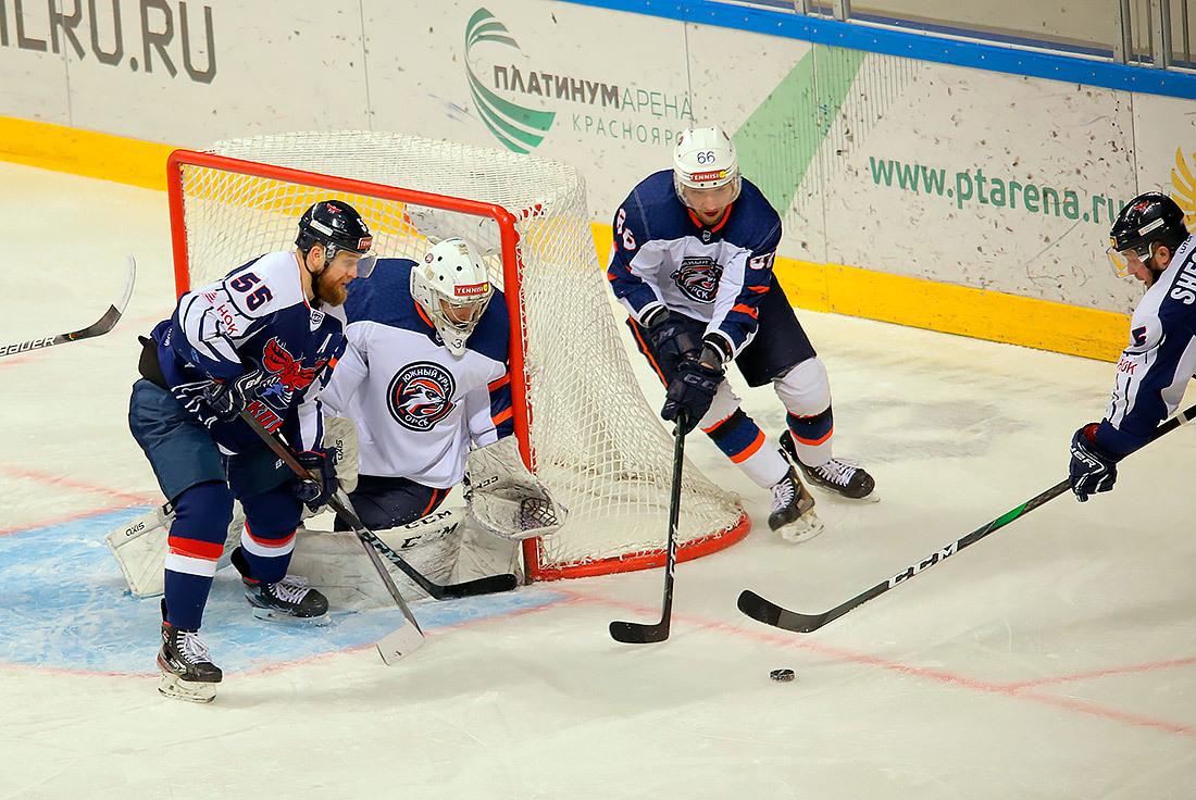 «Южный Урал» победил в Красноярске